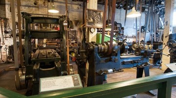 Stay + Play! Baltimore Spring Staycation: Baltimore Museum of Industry