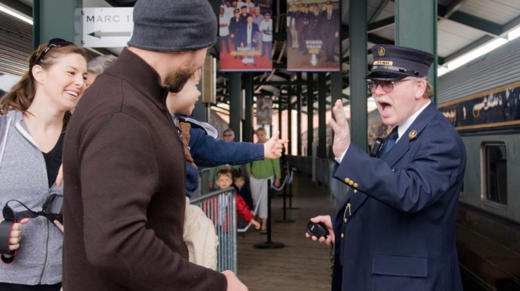 Stay + Play! Baltimore Spring Staycation: B&O Railroad Museum