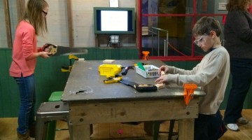 DIY Workshops at The Shed, Maryland Science Center - (cool) progeny