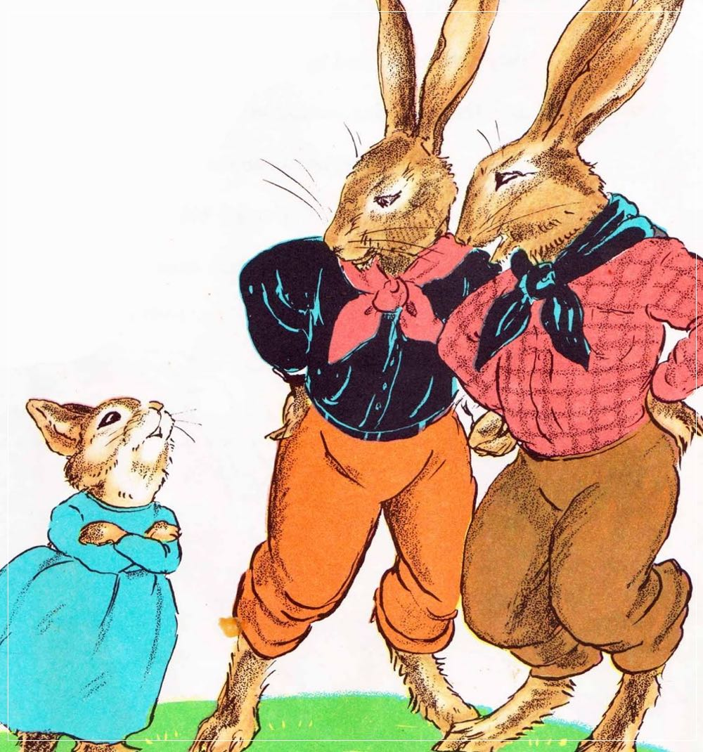 The Country Bunny and the Little Gold Shoes  - (cool) progeny