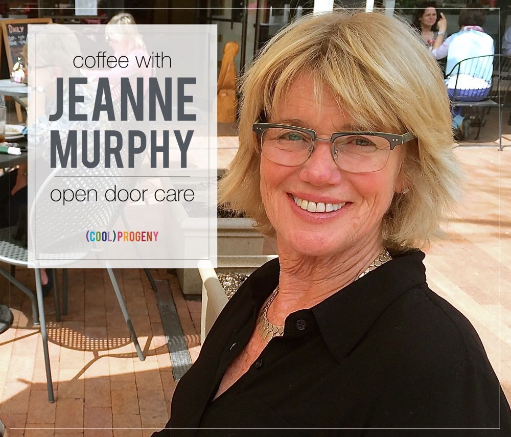 Coffee with Jeanne Murphy, pioneering before and after school care in #Baltimore - (cool) progeny, #coolprogeny #coffeewith