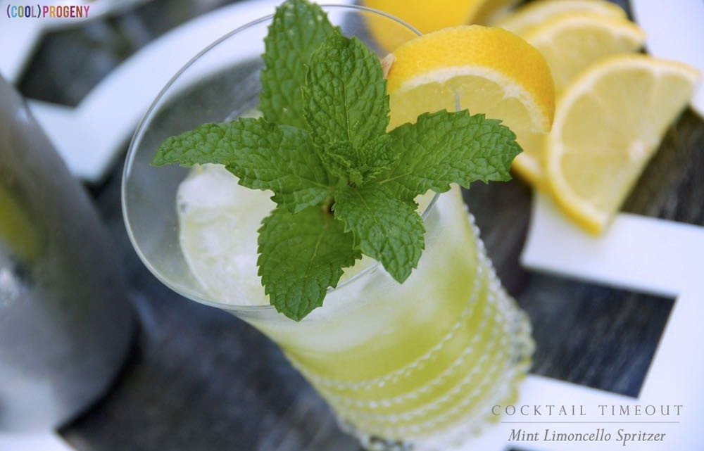 Mint Limoncello Spritzer - (cool) progeny