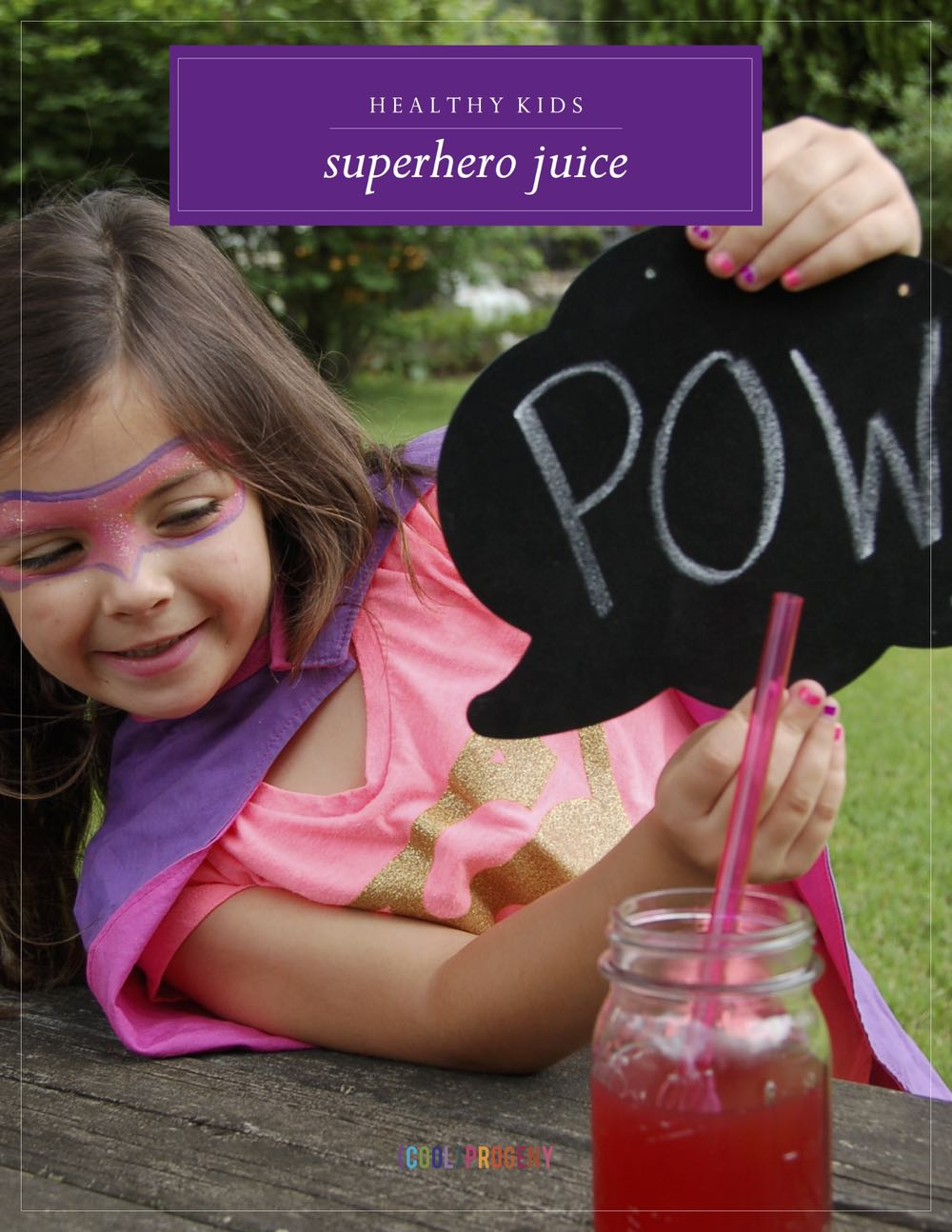 Superhero Juice - (cool) progeny