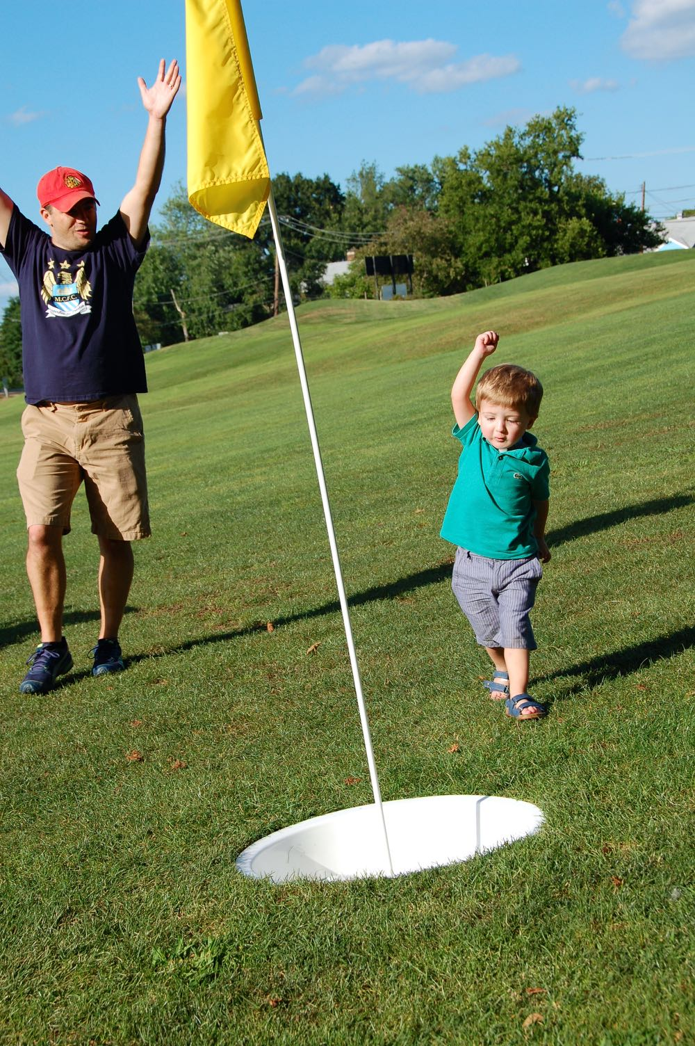 FootGolf at McDaniel College - (cool) progeny