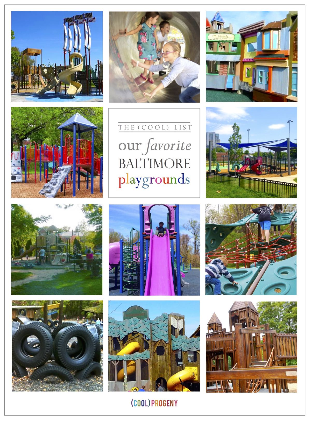 Our favorite #Baltimore area playgrounds! #coolprogeny #play