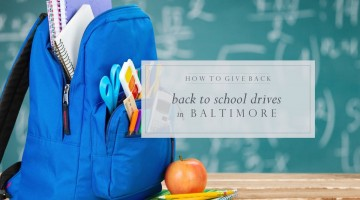 WHERE TO DONATE: Back to School Drives in Baltimore - (cool) progeny