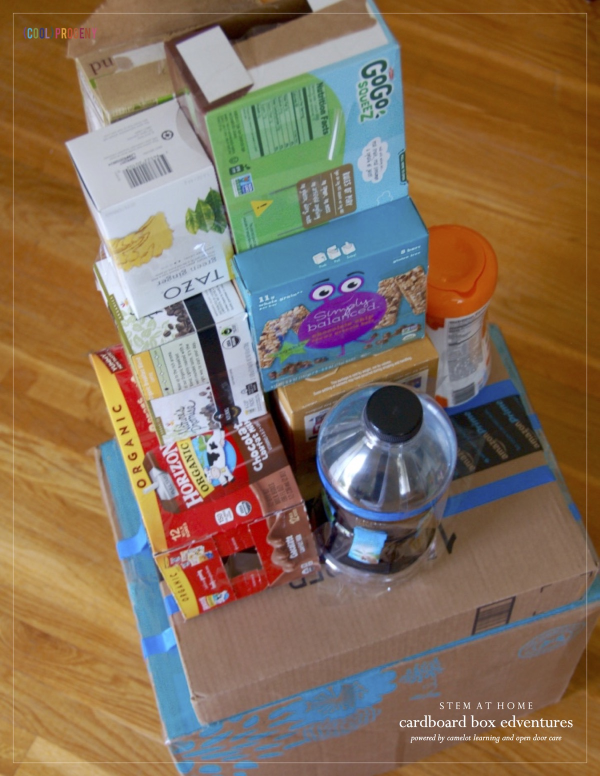 STEM AT HOME: 3 Cardboard Box Edventures - (cool) progeny