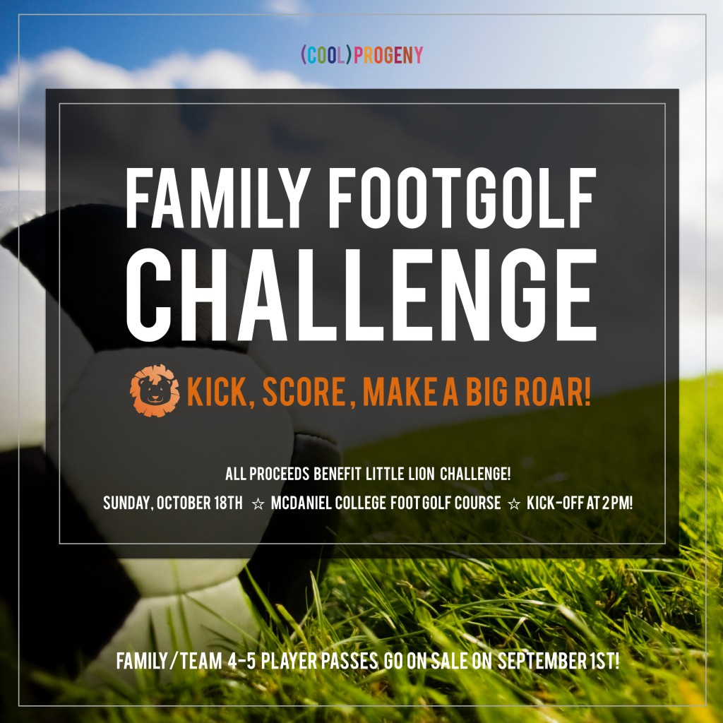 Family FootGolf Challenge - (cool) progeny