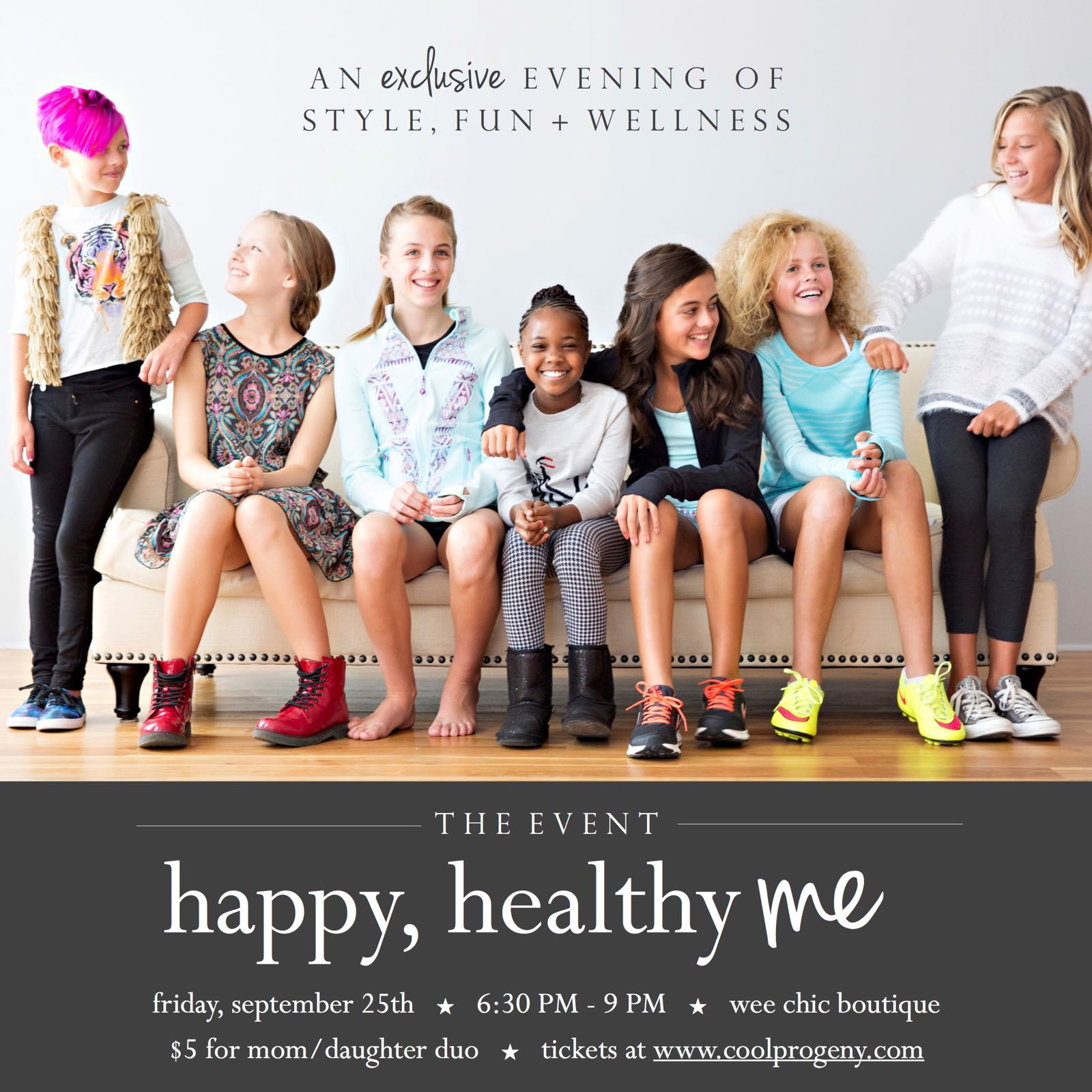 Happy Healthy Me: The Event - (cool) progeny