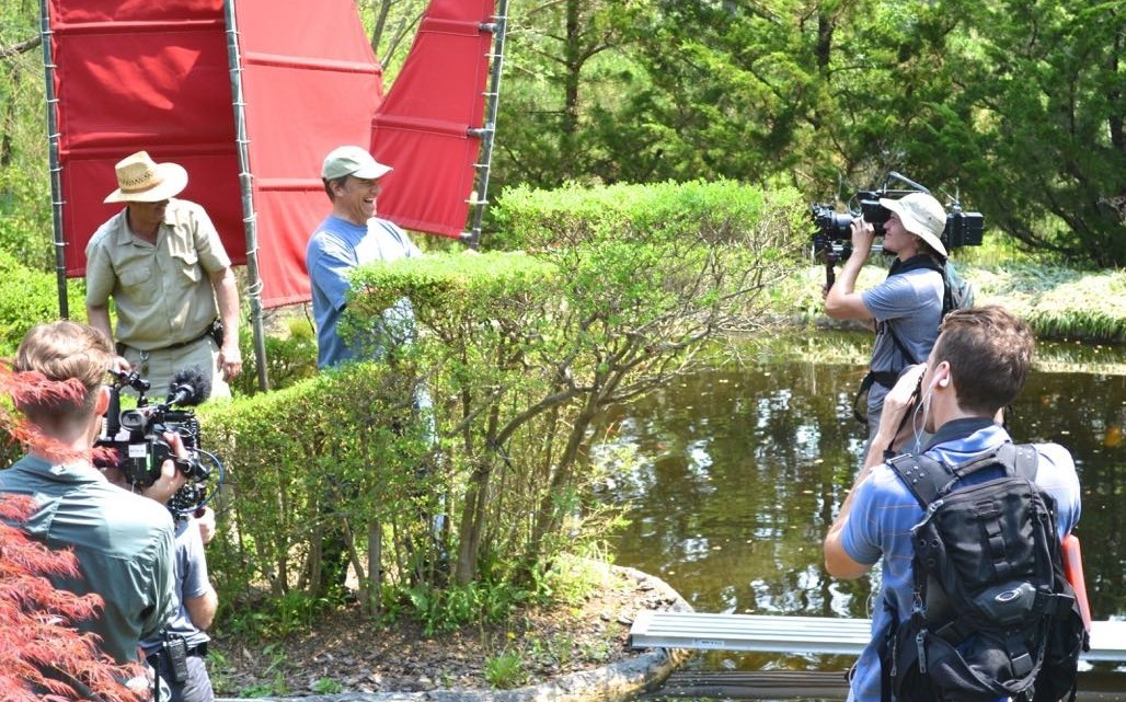 Mike Rowe at Ladew Gardens - (cool) progeny