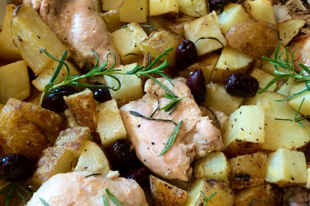 one dish rosemary lemon chicken with potatoes - (cool) progeny