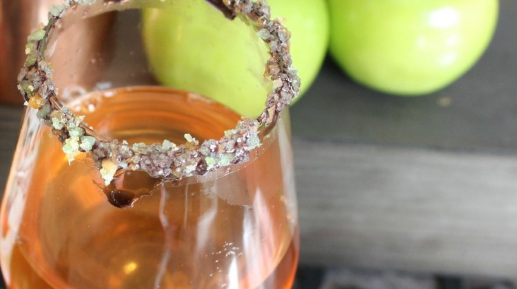 poison apple cocktail - (cool) progeny #cocktail #halloween