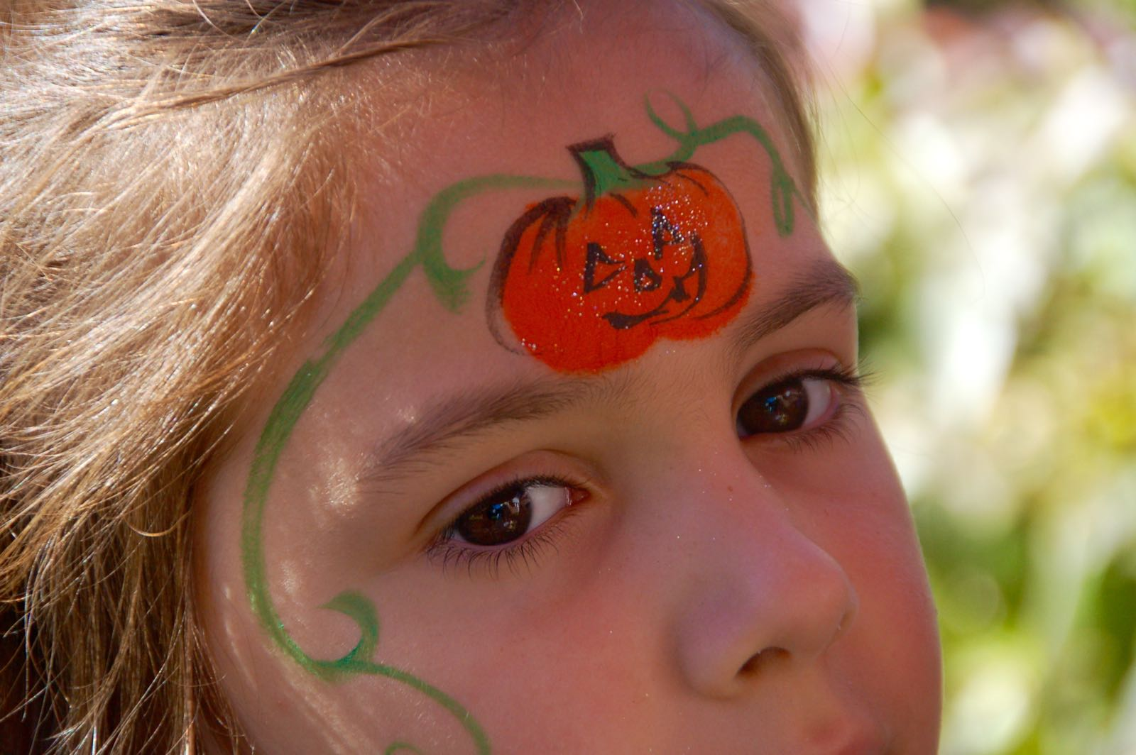 Uncategorized Funny Face Paint Ideas easy halloween face paint ideas cool progeny pumpkin princess facepaint 4