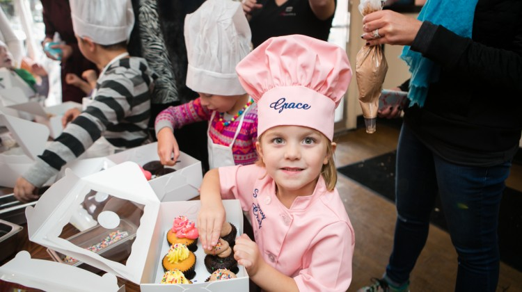 cupcake decorating party - (cool) progeny