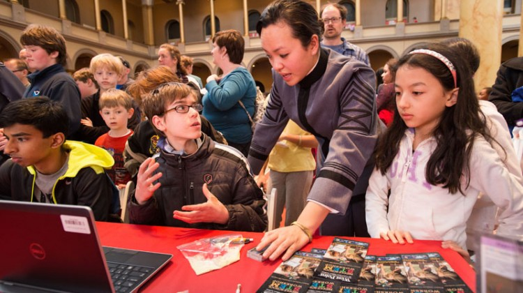 National Building Museum Discover Engineering Family Day - (cool) progeny