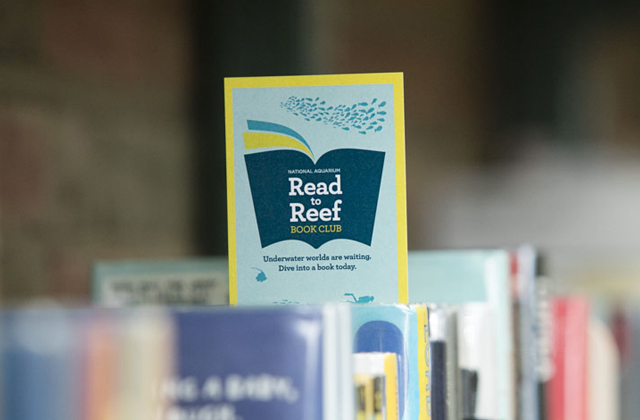 read to reef book club at the national aquarium - (cool) progeny