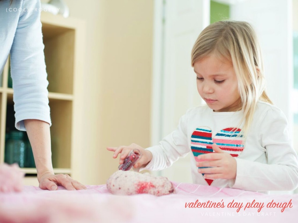 glittery valentine's day play dough - (cool) progeny
