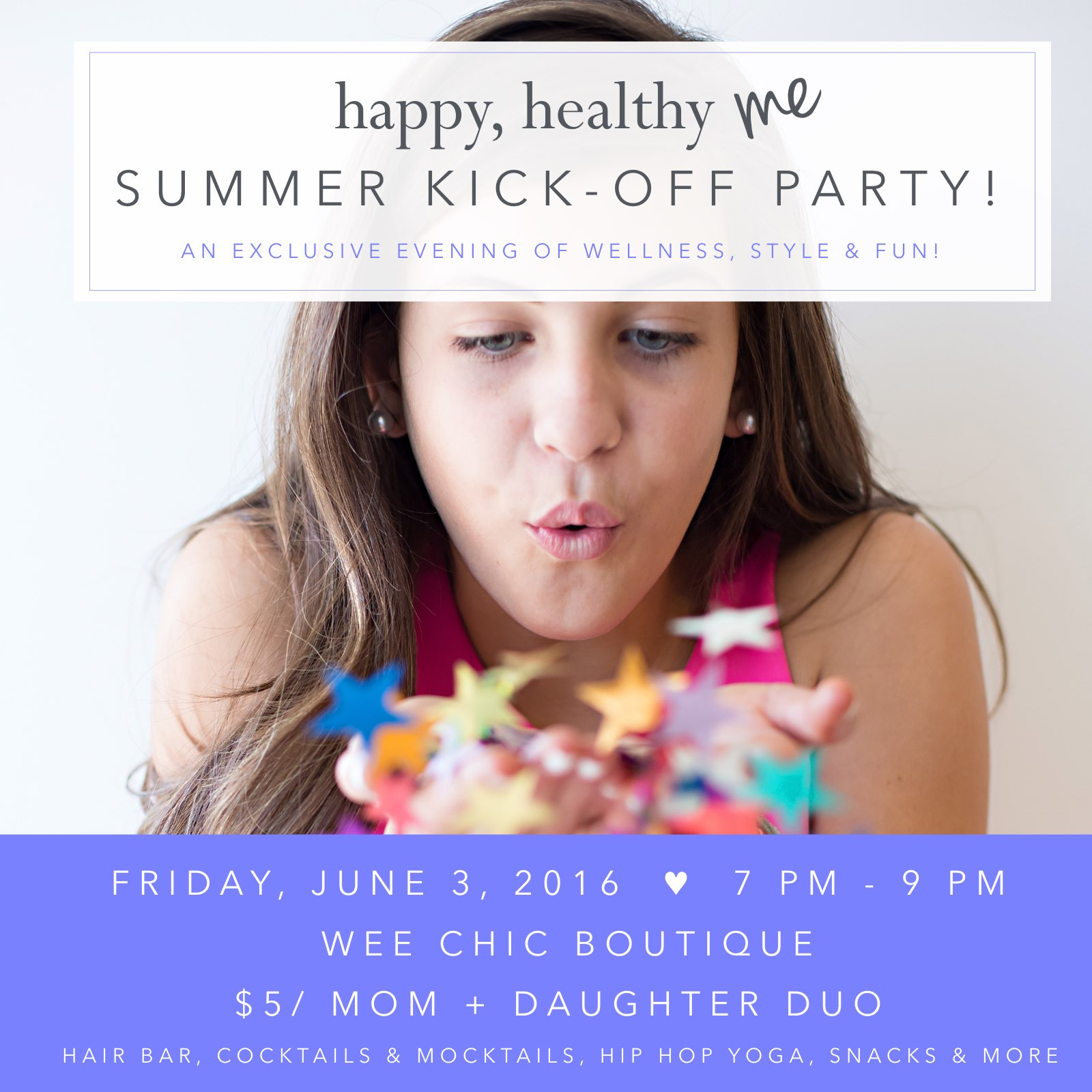 Happy Healthy Me Summer Kick-Off Party! - (cool) progeny