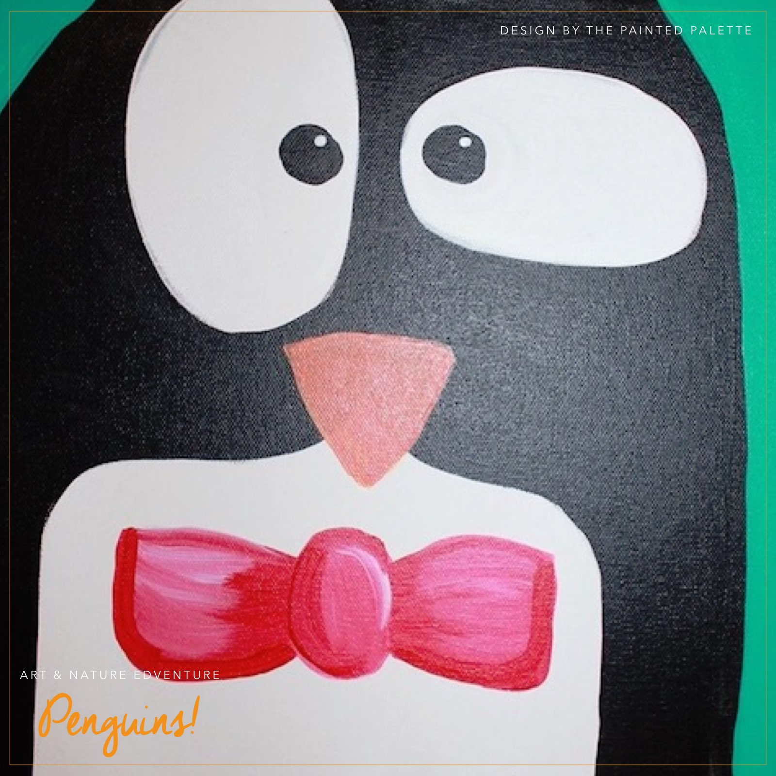 art + nature edventure: penguins! - (cool) progeny