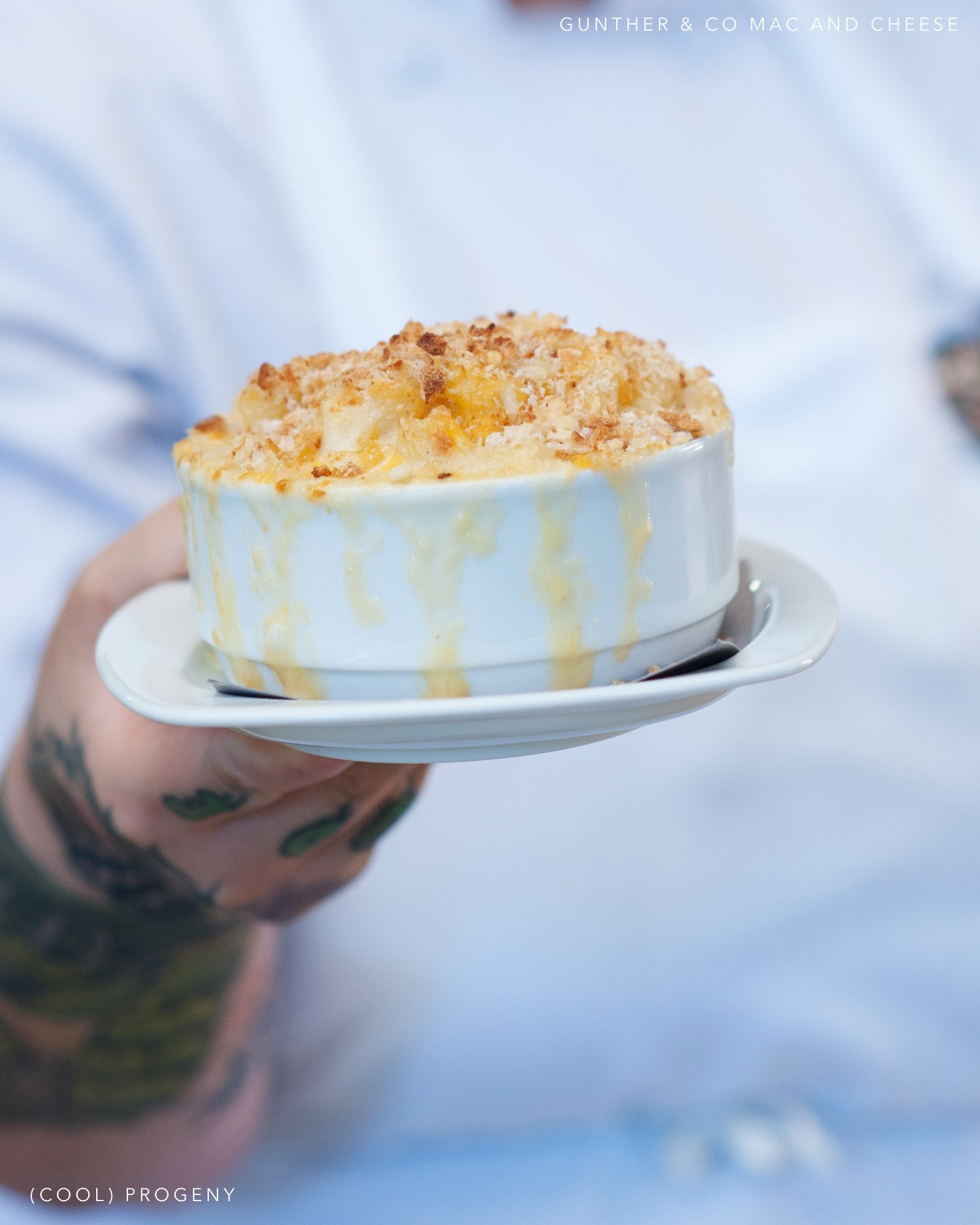 Mac and Cheese from Gunther & Co - (cool) progeny