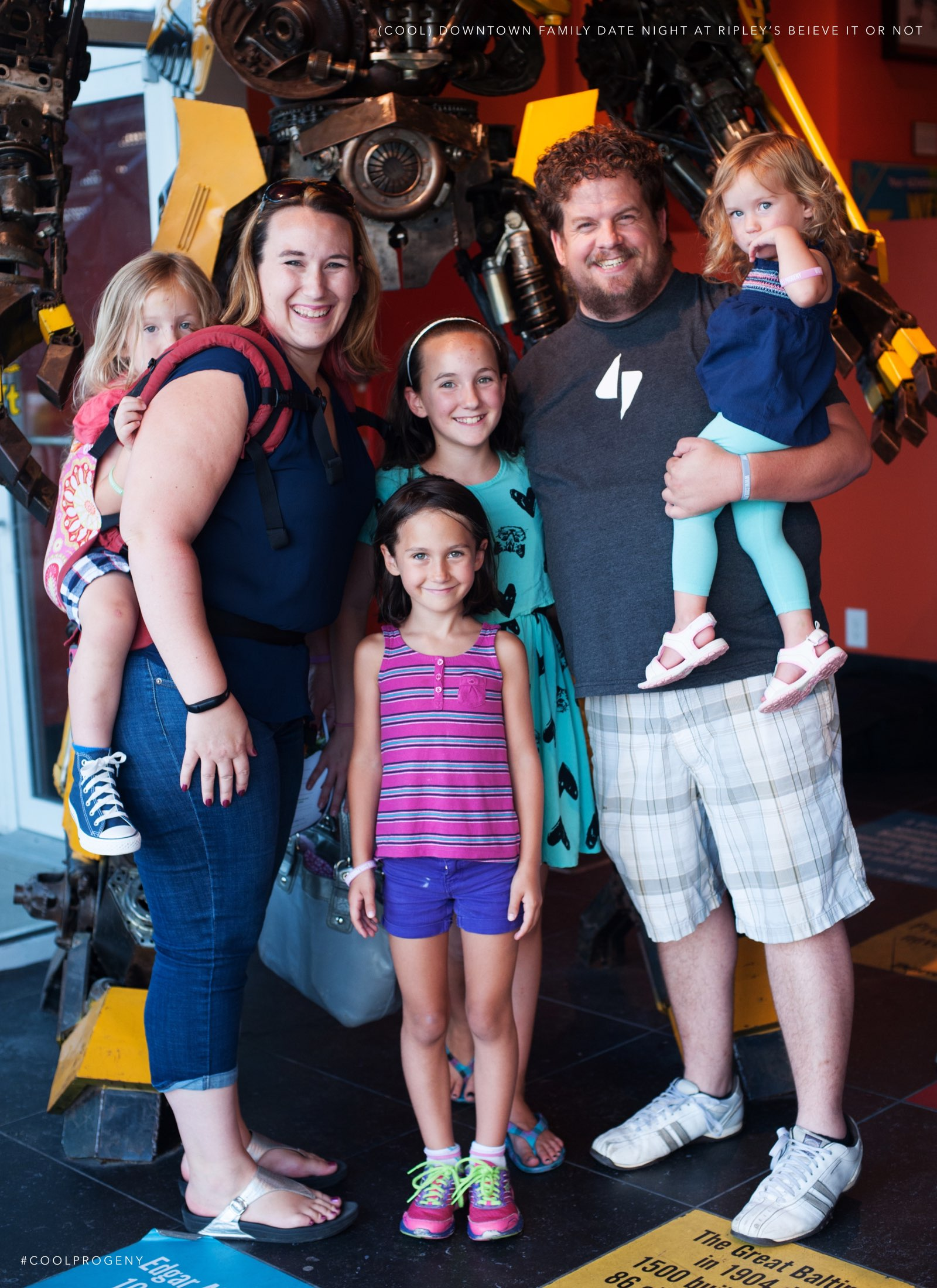 (cool) family date night at ripley's believe it or not! - (cool) progeny. Photo by Laura Black.