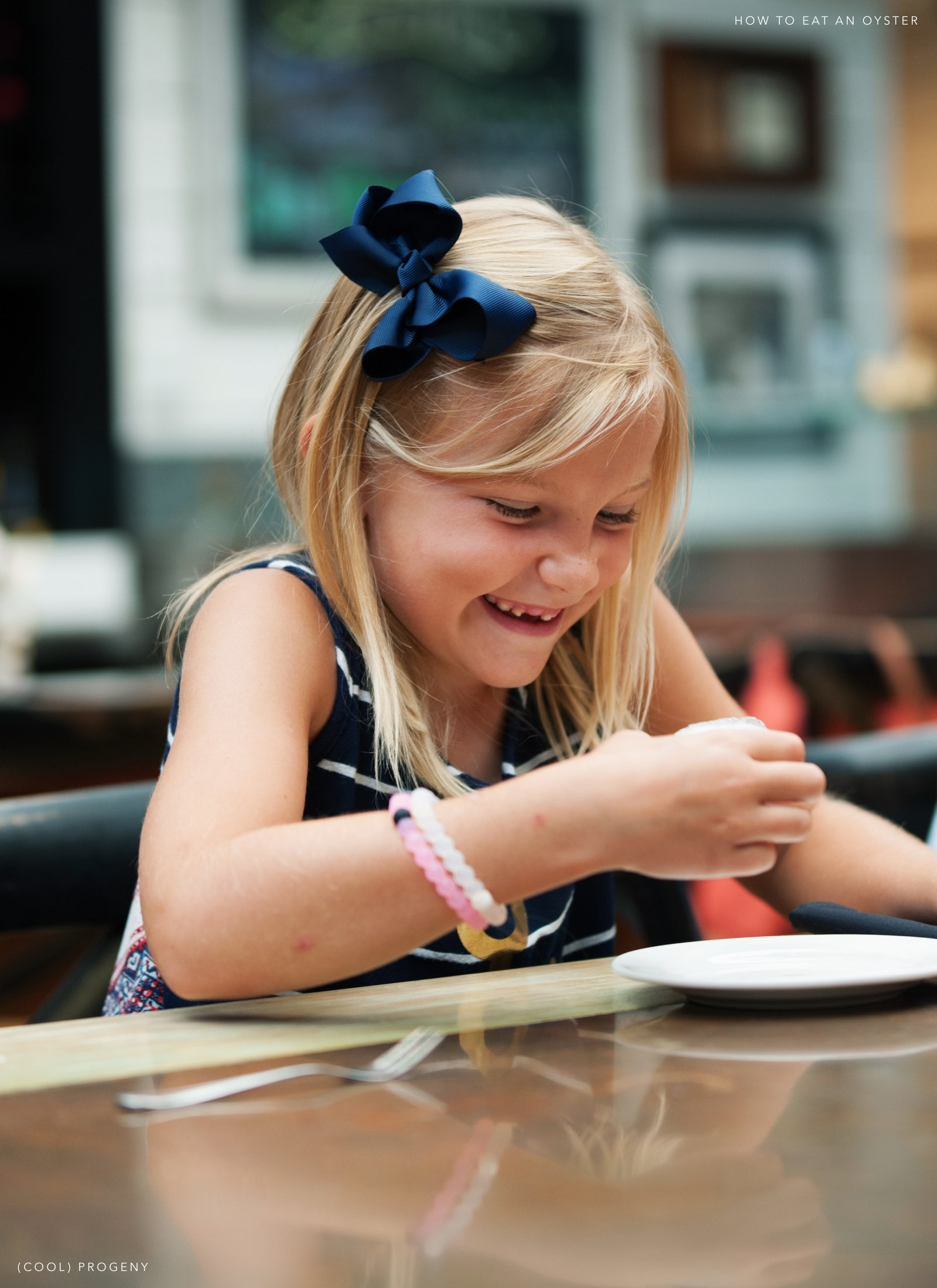 pint-sized foodies: how to eat an oyster