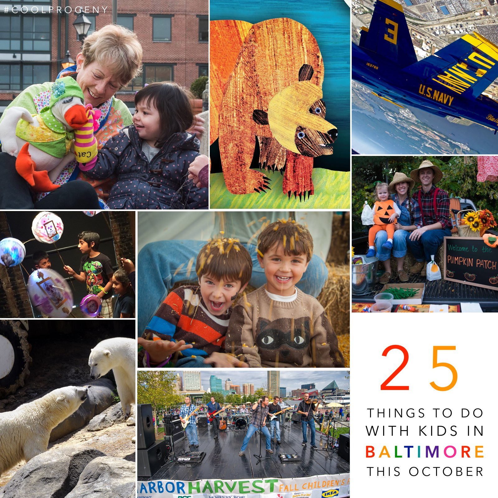 25 Things to Do with Kids in Baltimore this October - (cool) progeny