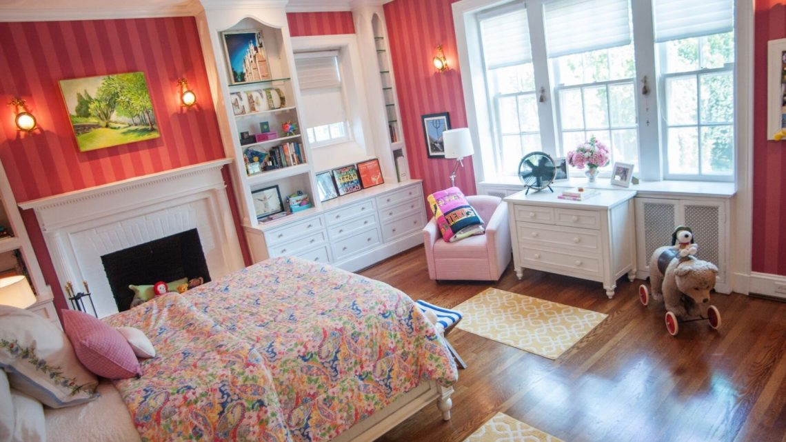 Girls Bedroom Designed to Grow - (cool) progeny