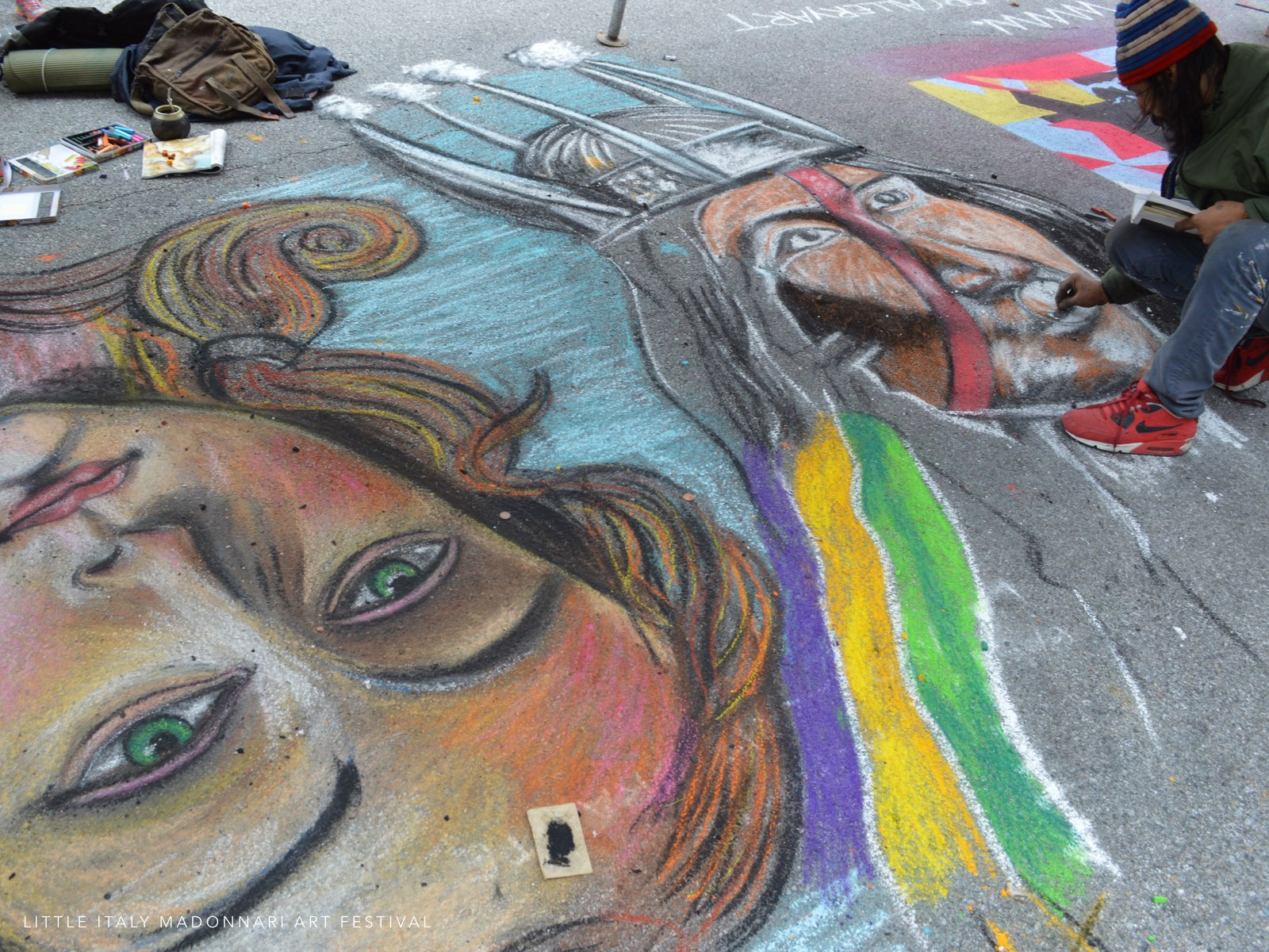 Little Italy Madonnari Art Festival