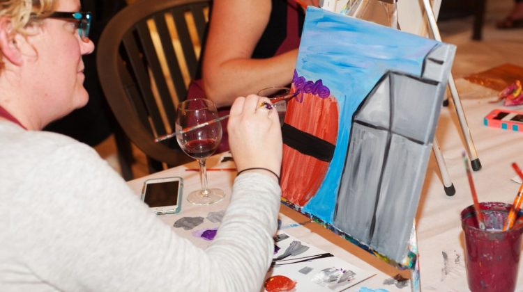 (cool) progeny moms night out at boordy with the painted palette - (cool) progeny