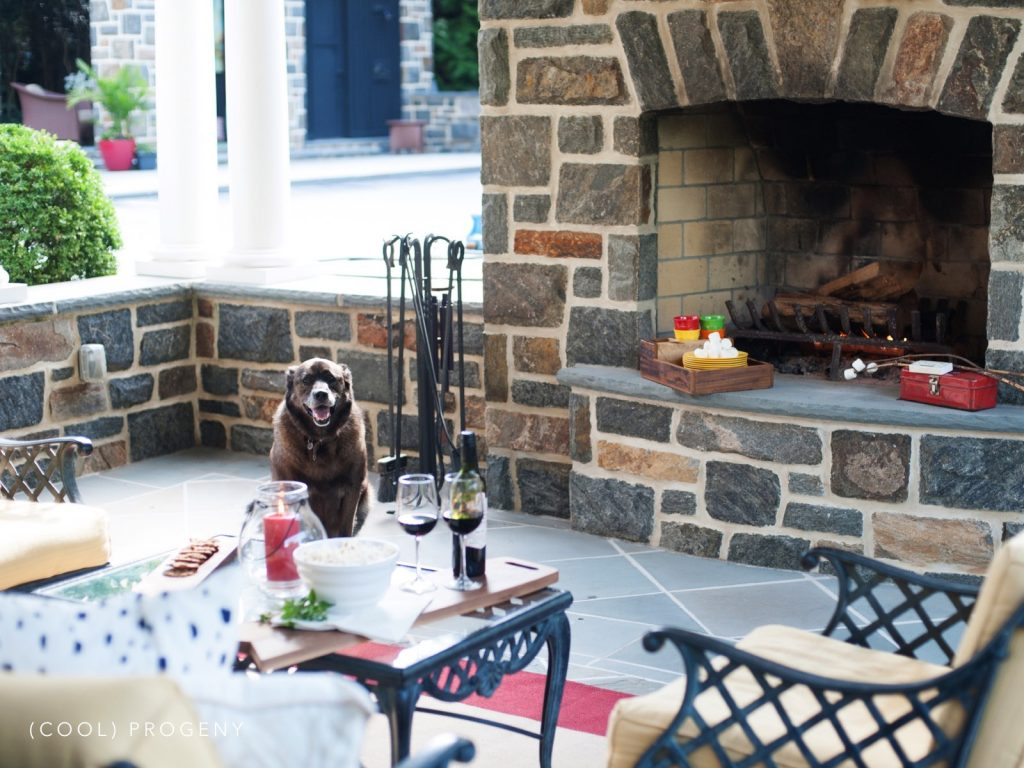 Cozy Outdoor Fall Living Space - (cool) progeny
