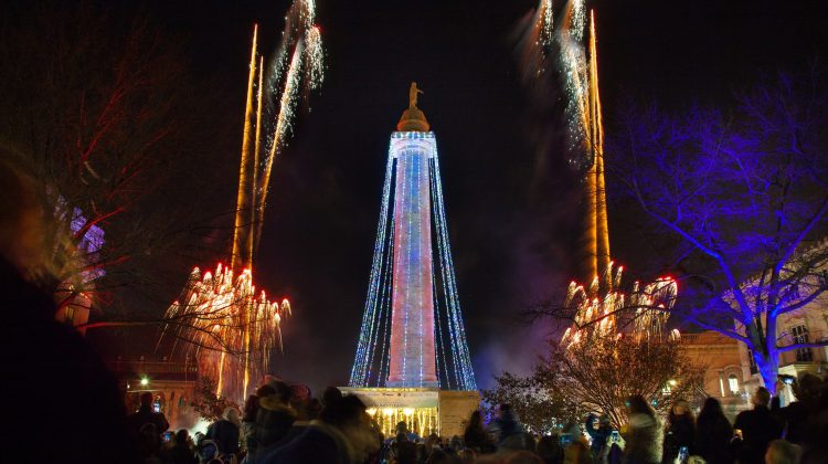 45th Annual Downtown Partnership Monument Lighting - (cool) progeny