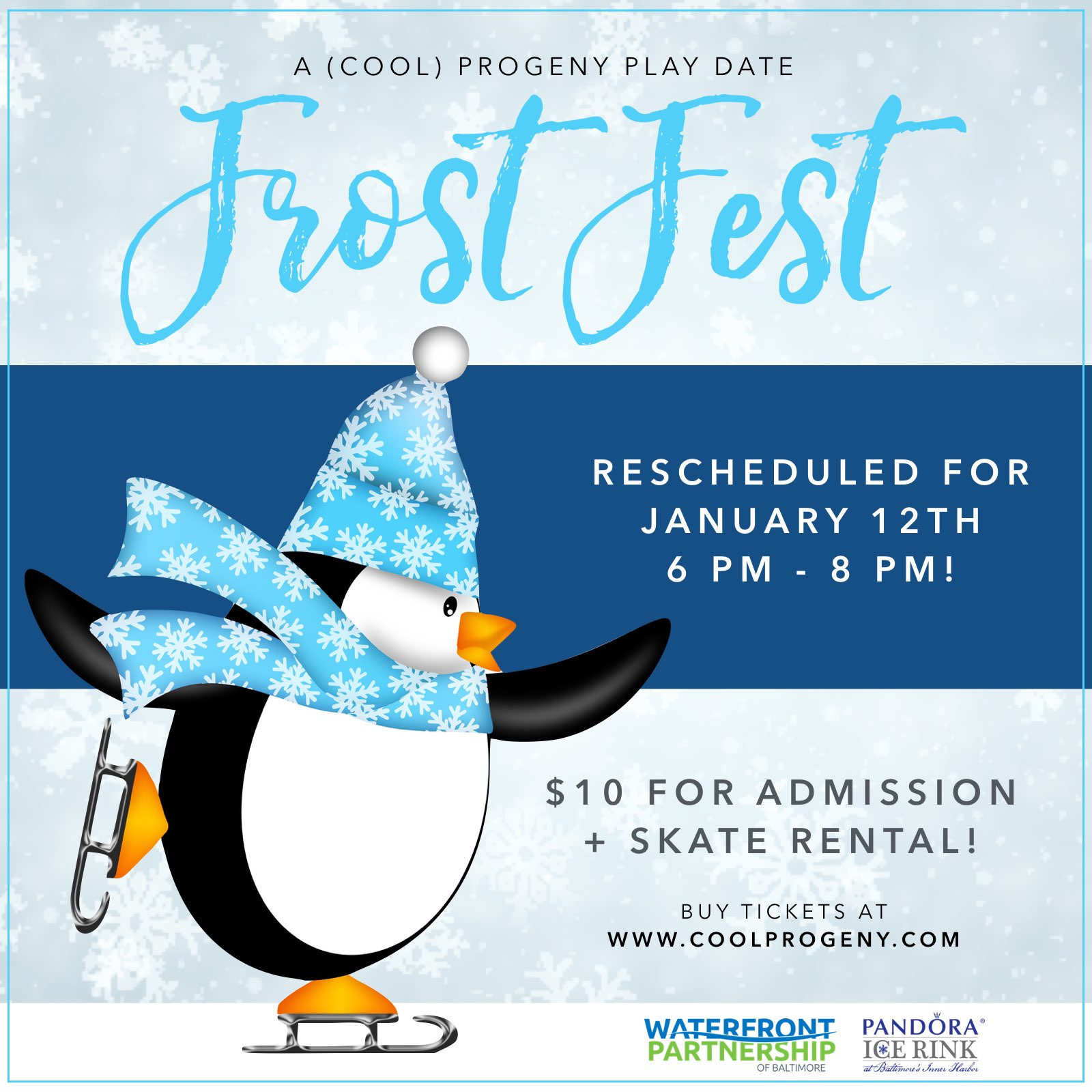 Frost Fest: A (cool) progeny play date with waterfront partnership
