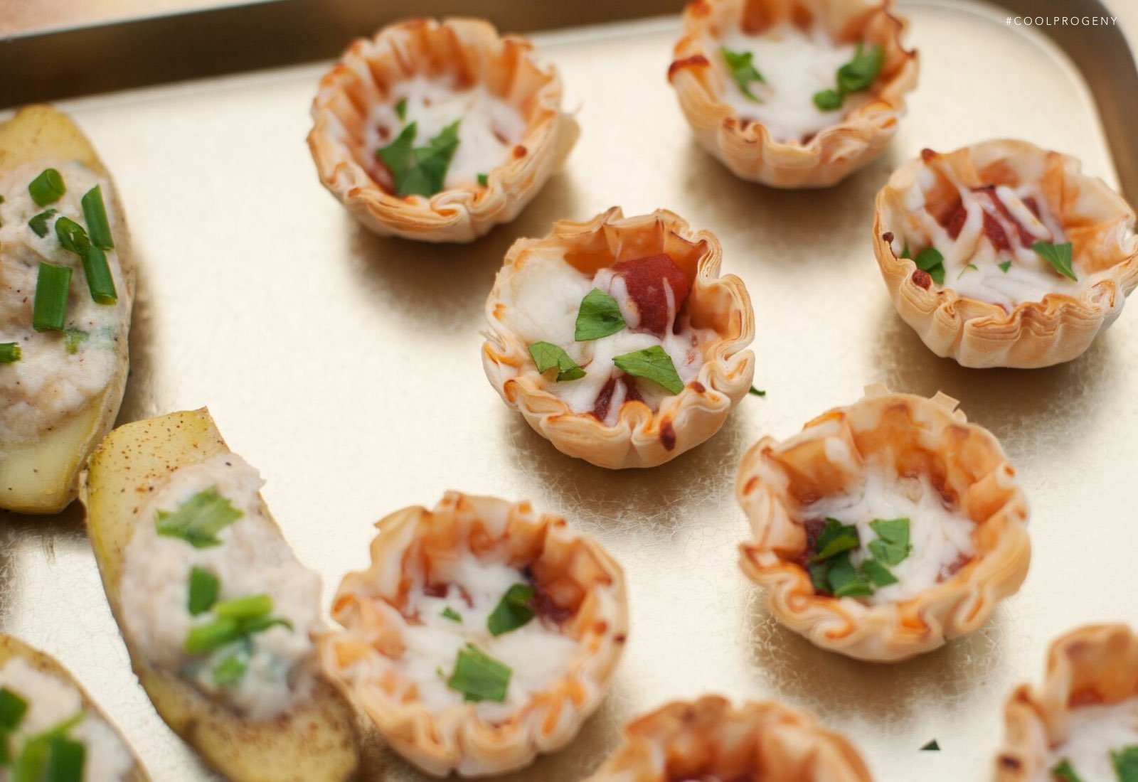 Mini Pizza Tarts - (cool) progeny