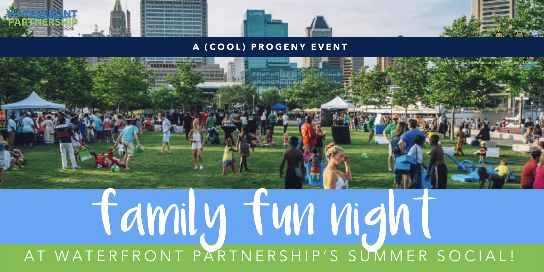 Family Fun Night at Waterfront Partnership's Summer Social - (cool) progeny