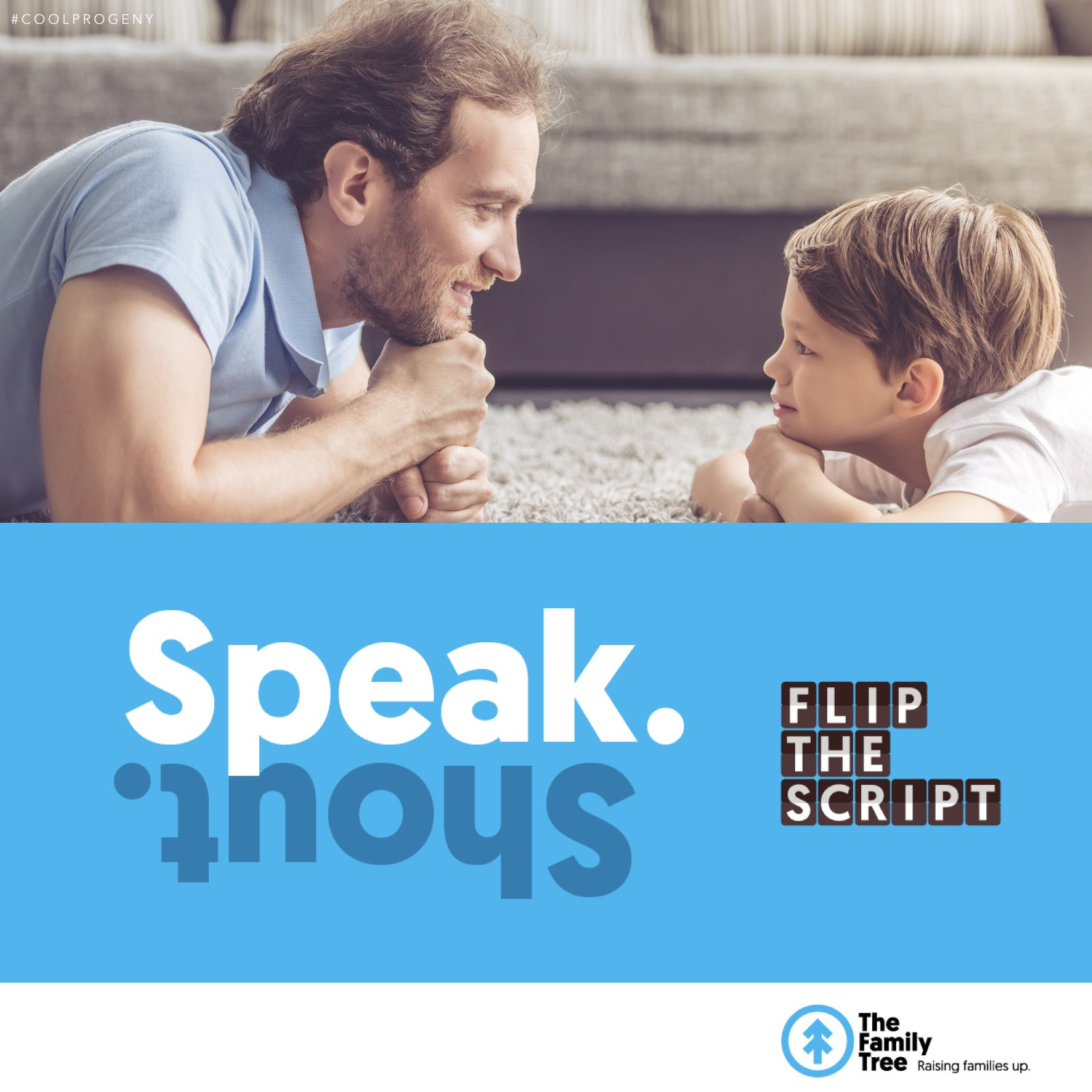 Flip the Script: How To Stop Yelling At Your Kids  - (cool) progeny with The Family Tree