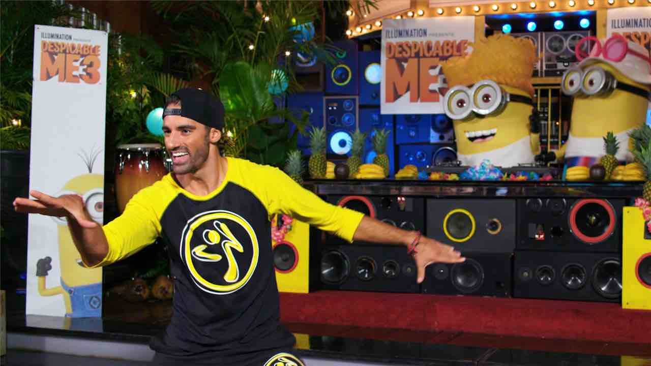 Zumba + Despicable Me 3 - (cool) progeny