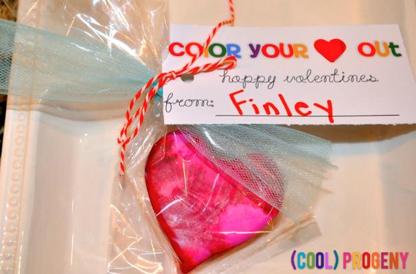 diy crayon valentines - (cool) progeny