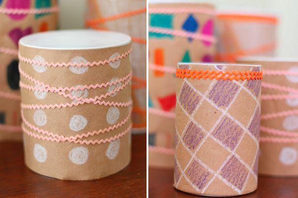 DIY Tin Can Drum -  Cool Progeny