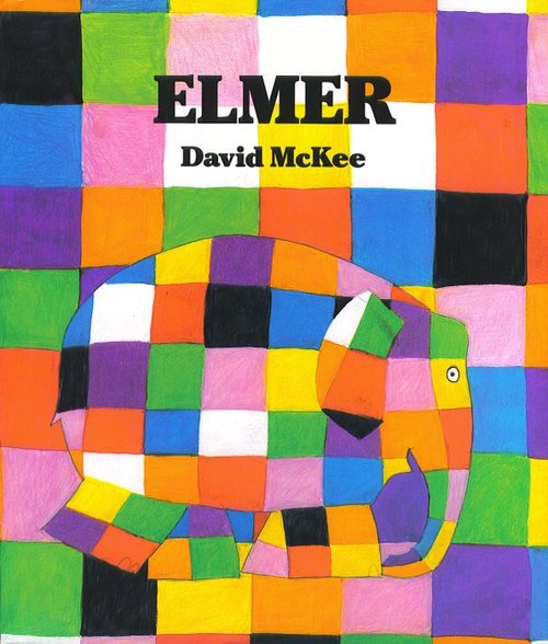 Elmer the Elephant Book
