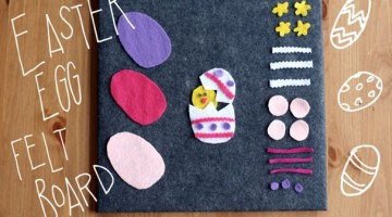 Easter Egg Felt Board - (cool) progeny