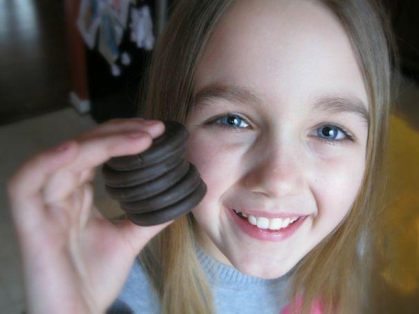 Dark Chocolate Thin Mint Brownies - (cool) progeny