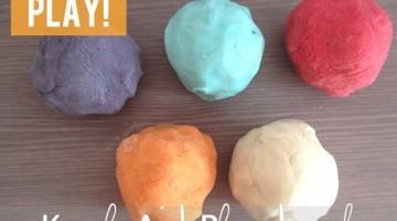 Kool-Aid Playdough - (cool) progeny