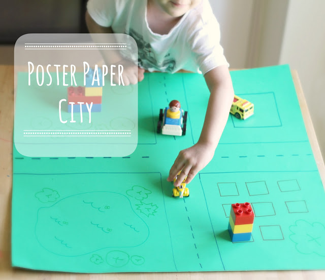 Poster Paper City - (cool) progeny