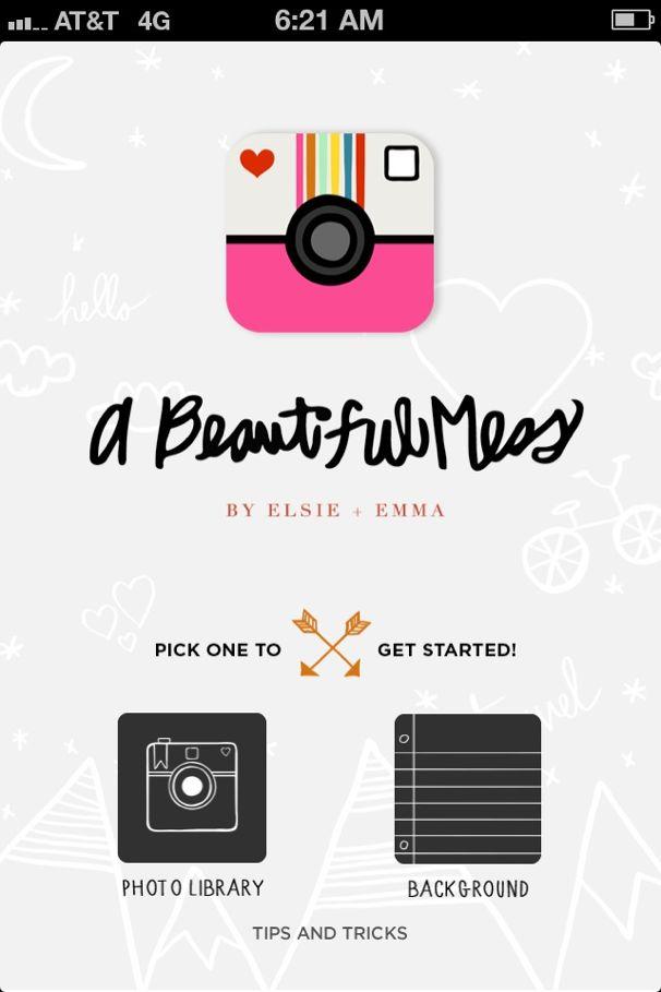 A Beautiful Mess App - (cool) progeny