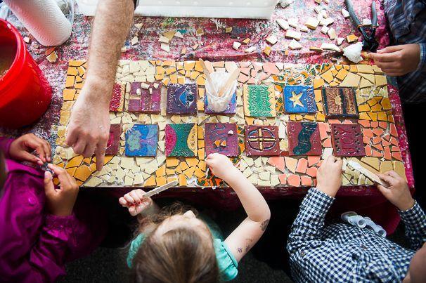 Art Outside Play Date - (cool) progeny