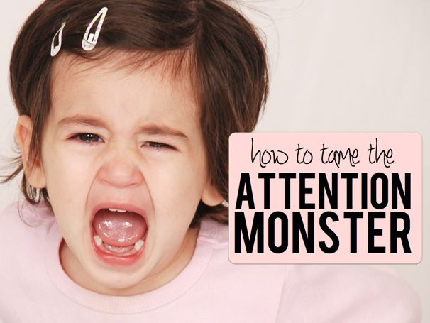 How To Tame The Attention Monster - (cool) progeny