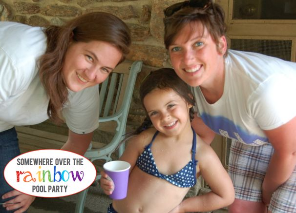 Somewhere Over the Rainbow Pool Party - (cool) progeny