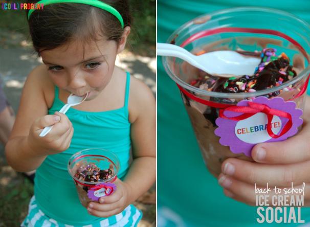 Back to School Ice Cream Social - (cool) progeny