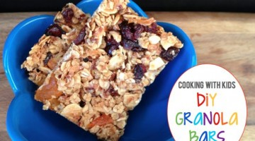 Kid-Friendly Granola Bars - (cool) progeny
